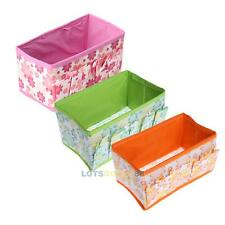 Make Up Cosmetic Storage Box Container Bag Case Stuff Organizer Folding Colors