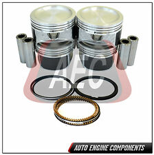 Piston & Rings Kit Fits Ford Mazda Escape Focus Tribute 2.3 L Duratec - SIZE STD