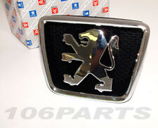 Peugeot 106 S2 Bonnet Badge All 106 Models 96-03 inc XS RALLYE GTi QUIKSILVER