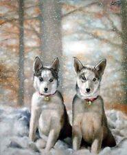 Photograpy PORTRAIT SERVICE Oil Painting 1 Pet 20x24 Commission Art