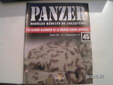 *** Panzer modèles réduits de collection n°45 Horch kfz. 15 avec Nebelwerfer 41