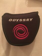 Odyssey 2 Ball Putter Head Cover Used Black