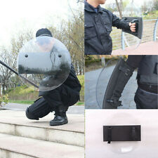 Cosplay Round Polycarbonate Anti-Riot Shield Police Tactical CS Campus Security