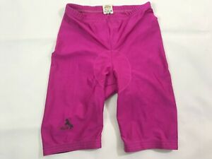 Vintage BLACKY Purple Padded Cycling Shorts Men's Size M Made in Switzerland