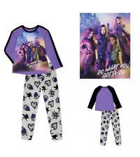 New Disney Descendants Age 4-5 Long Sleeve Pyjamas Pjs Loungewear Sleepwear Set