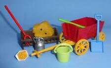 Playmobil Cart / Carriage / Wagon Tools Feed Hay & More for Castle / Farm / Zoo