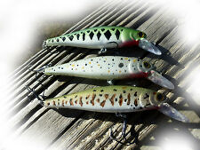 CUSTOM LUCKYCRAFTSTYLE POINTER  JERKBAIT FISH LURE-SET OF THREE