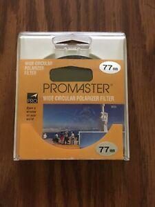 Promaster 77mm Wide Circular Polarizer Filter