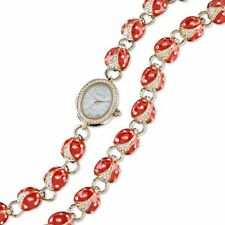 Lucky Ladybug Watch & Bracelet Set by Lenox ~ NIB