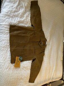 Filson Tin Cloth Cruiser Jacket Size XL; Waxed Cotton/Canvas; $395 Retail; *NEW*
