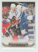(70102) 2015-16 UPPER DECK CANVAS STEVEN STAMKOS #C78