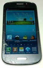 Samsung Galaxy Admire 2 SCH-R830C  4GB  Silver Cricket Smartphone Cracked Glass