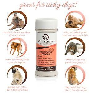 COAT DEFENSE Canine & Cat Daily Preventative Powder | Made In USA