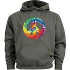 Peace sign hoodie Men's size peace sign sweatshirt sweats tie dye hoodie