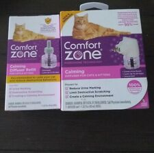 Comfort Zone Diffuser And Refill For Cats & Kittens,New,Sealed