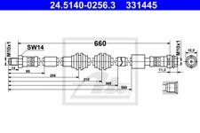 Bremsschlauch Bremsleitung ATE 83.6103-0190.3