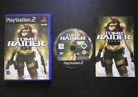 TOMB RAIDER UNDERWORLD : JEU Sony PLAYSTATION 2 PS2 (Eidos COMPLET Lara Croft)