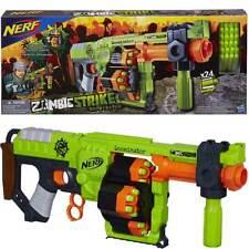 NERF Gun Soft Darts Elite Strike Blaster, Kids Foam Toy, the Doominator