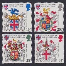 GB MNH STAMP SET 1984 College of Arms SG 1236-1239 UMM