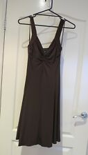 Moda International Womans Designer Brown Dress - Size M