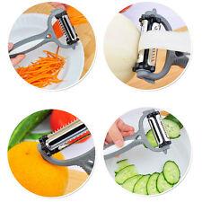 Multi-purpose Vegetable Potato Ceramic Peeler Parer Julienne Cutter Slicer Tools
