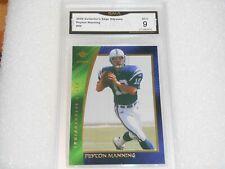 Peyton Manning GRADED CARD!! Mint 9!! 2000 Edge Odyssey #42 Colts Broncos MVP%