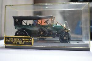 FIAT 4 COPERTA DEL 1911 scala 1/43 DUGU 1° SERIE  made in italy