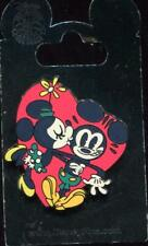 Mickey Mouse Minnie Mouse Kiss Heart Disney Pin 102775