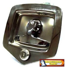 4 xFolding T handle Lock  Heavy Duty  for Trailers - Toolboxes - Trucks and Vans