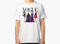 New VOGUE DISNEY VILLAINS Men's T-shirt size S-2XL
