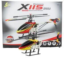 X115 Elicottero radiocomandato 4 canali giroscopio drone led batteria ricambi