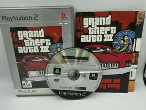 Grand Theft Auto III - PlayStation 2 ps2 Game Complete + Manual - Play Tested