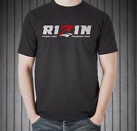 Rizin Fighting Federation Japan MMA Fedor Crocop Sakuraba Black T-shirt All Size