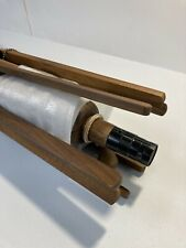 NWD Pottery Barn 9' Foot Round Market Umbrella Pole Teak Frame Only - Brown