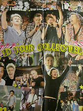 One Direction, Cameron Dallas, Double Four Page Foldout Poster