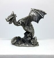 Tudor Mint - The Dragon of Pre-History - Pewter Figurine  #3094