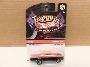 Hot Wheel - 1/64 - 67 Pontiac G.T.O.  - Larry's Garage w / Real Riders.