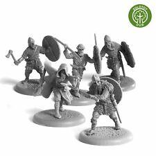 """Vikings Hirdmen - by Zolotoy Dub- Artel """"W"""" Miniatures AWM051"""