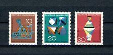1968 Satz  postfrisch Mi.-Nr. 546-548 Technik und Wissenschaft