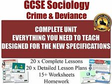 GCSE Sociology Teaching Resources (PowerPoints, Lesson Plans, Worksheets etc.)