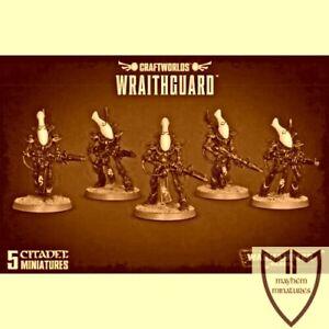 5 x Wraithguard / Wraithblades - Eldar, Craftworlds, Warhammer 40K