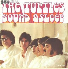 TURTLES--PICTURE SLEEVE + 45--(SOUND ASLEEP)--PS--PIC---SLV
