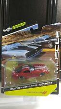 1/64 Maisto Design Muscle 08 Dodge Viper SRT10