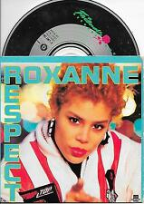 THE REAL ROXANNE - Respect CD SINGLE 4TR DUTCH CARDSLEEVE 1988 (FRIENDS RECORDS)