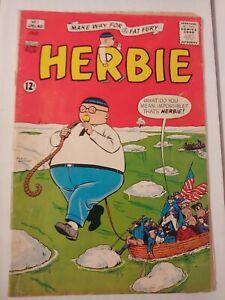 Herbie #1 The Fat Fury ACG Comic 1964 Ogden Whitney