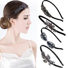 Classic Korean Butterfly Flower Crystal Hairband Headband Women Girl Headdress