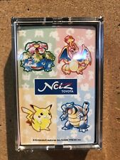 EXTRA RARE Pokemon Playing Card limited NETS TOYOTA Promo Nintendo vintage Japan