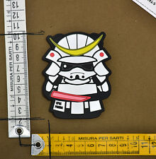 "PVC / Rubber Patch ""Ghost (Samurai Panda)"" by EPIK PANDA® brand"