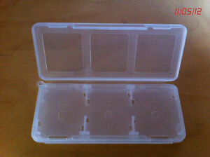 Nintendo DS/DSi Game Card Holder for 6 Games in 1 Case in Clear