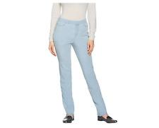 """As Is"" Isaac Mizrahi Live! Petite 24/7 Denim Straight Leg Jeans 10P Size QVC"